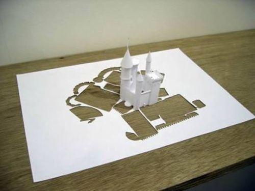 papel4 - Arte con una hoja de papel