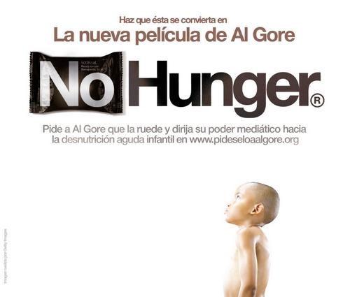 pideseloaalgore - No hunger: el documental de Al Gore que todavía no existe