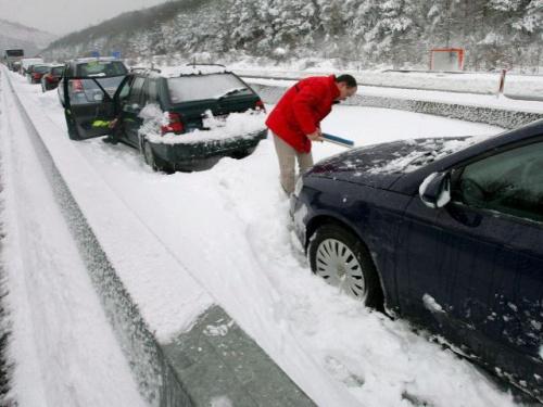 autopistas nevadas