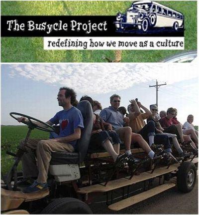 bus - The buscycle project. Todos vamos en el mismo barco