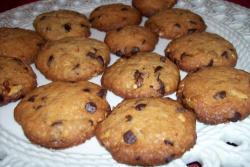 cookies galletas1 - Cookies de chocolate y nueces más sanas