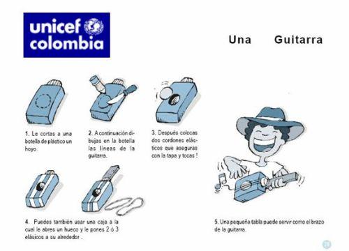 """juguetes unicef21 - """"Hagamos juguetes divertidos"""": libro en pdf de Unicef Colombia"""