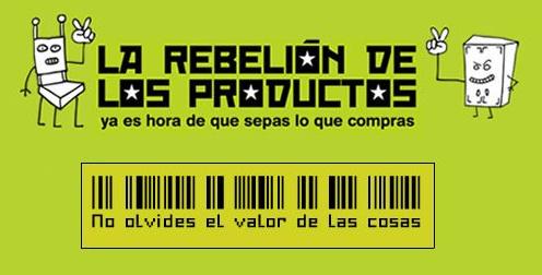 la rebelion de los productos