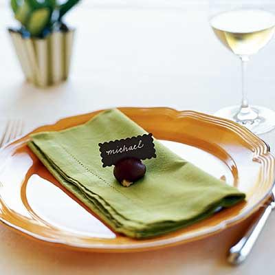 mesa2 - Decoración natural de la mesa