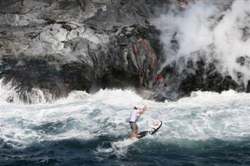 Volcano Paddler