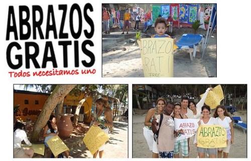 abrazos gratis - Ofrecer ABRAZOS GRATIS para dar felicidad