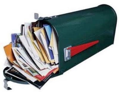 buzon lleno - Ponga fin al correo comercial. Simplifica tu vida 26