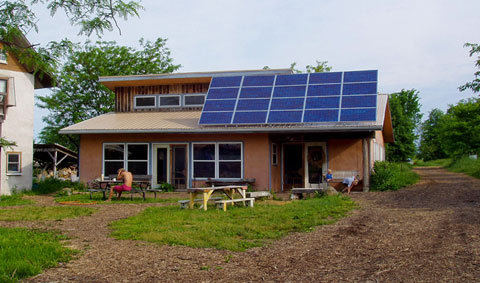 "casa off the grid - Vivir ""off the grid"""