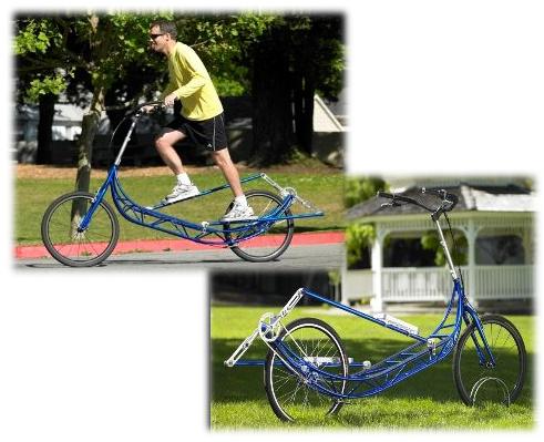 elliptigo - elliptiGo: la bicicleta alternativa para pedalear de pie