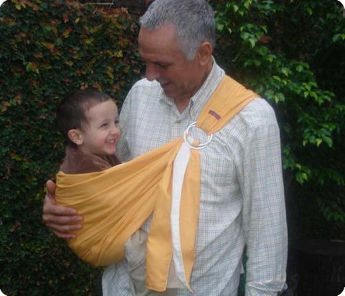 papa portabebees - paz y crianza