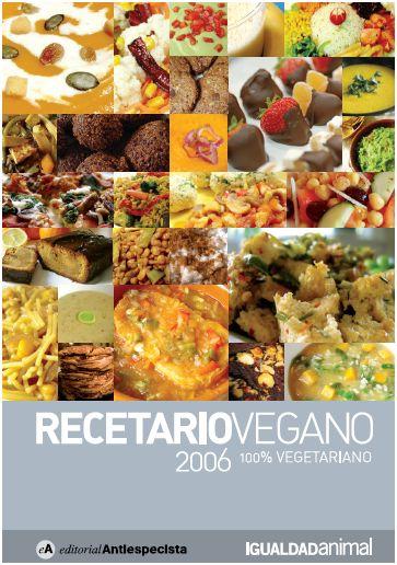 Dieta vegana recetas pdf