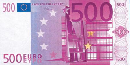 500 euros - Cuento del billete de 500 euros o ¿cuánto valemos?