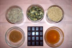 barritaschocolate ingredientes - barritas energéticas con semillas y chocolate