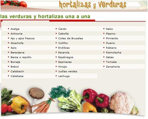 calendarioverduras consumer - Calendarios de frutas y verduras de temporada