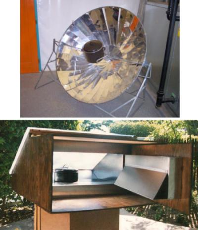cocina solar - Cocinar al sol: cocina solar de concentración y horno solar (1/2)