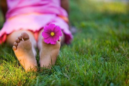 flor pies - Hechos, no palabras