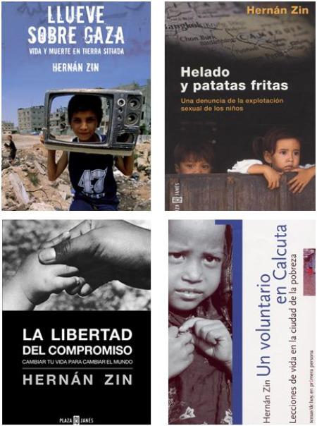 hernanzin libros - Hernán Zin, periodismo y compromiso