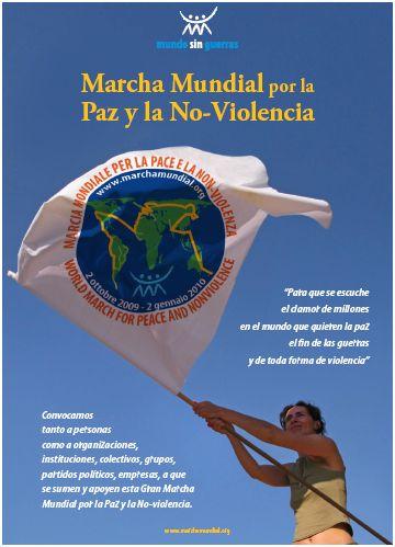 marchapaz - marcha mundial por la paz