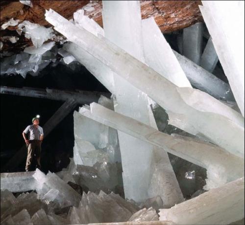 los cristales gigantes de Naica
