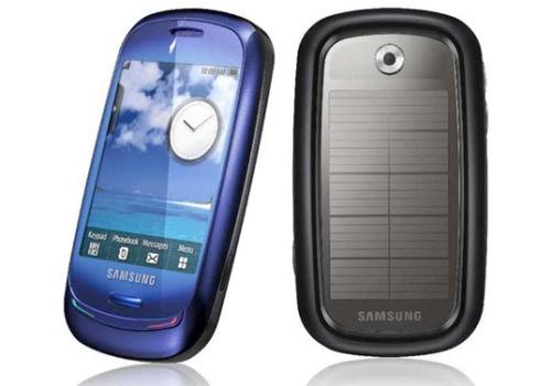 samsungsolarphonewow - Samsung anuncia el primer teléfono móvil con panel solar
