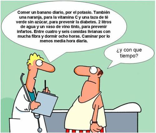 chiste salud - Salud, tiempo y calidad de vida