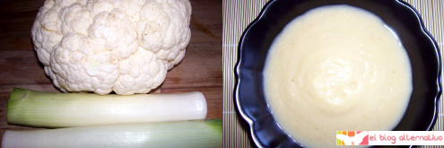 crema blanca - Cremas de verduras de colores caseras