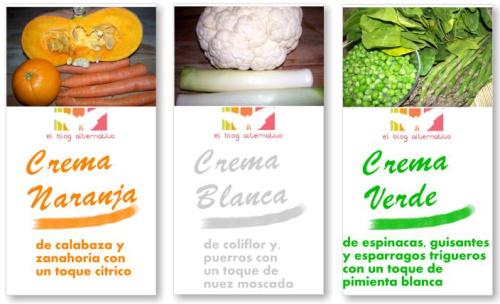 cremas de verduras