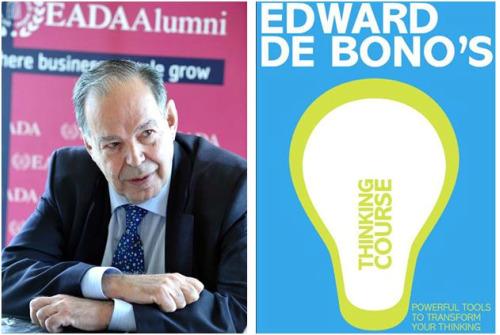 """edward bono portada - """"¿Todavía no ha cambiado de paradigma?"""". Entrevista al experto en pensamiento creativo Edward de Bono"""