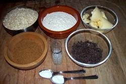 galletas avena ingredientes - Galletas de avena y chocolate