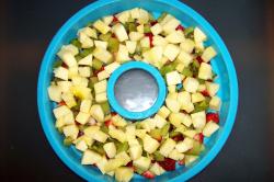 jalea fruta1 - Jalea de frutas frescas al aroma de naranja y coco con agar-agar