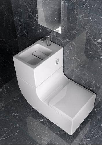 lavabo e inodoro - Ahorro de agua con lavabo e inodoro todo en uno