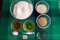 pan integral de avena y semillas casero