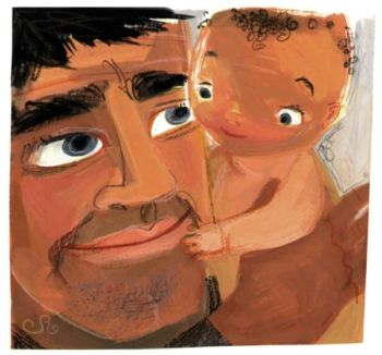 papa y bebe
