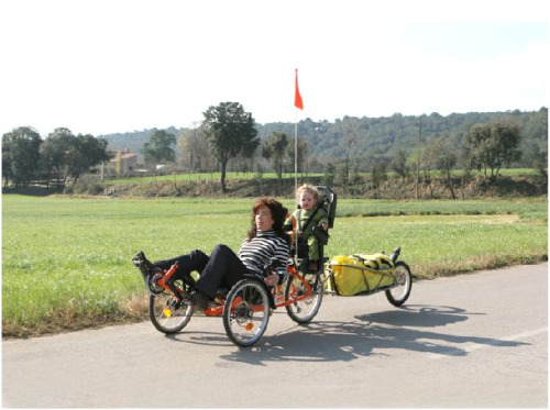 triciclo - Triciclo Montseny: un transporte alternativo