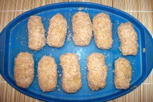 croquetas arroz sin freir - croquetas-arroz y lentejas