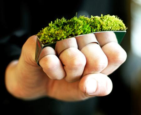 anillo verde1 - Growing Jewelry: los anillos más verde y vivos