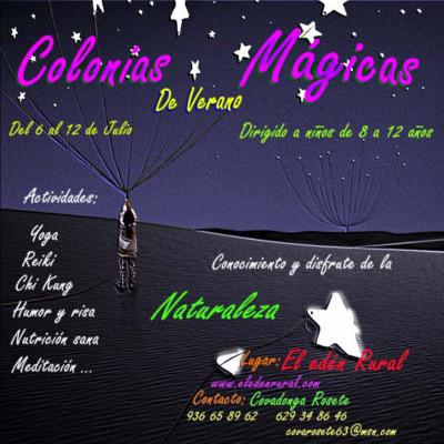 colonias magicas - COLONIAS MÁGICAS para niños de 8 a 12 años en Cataluña 2009