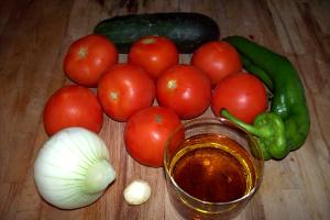 gazpacho ingredientes - Receta de gazpacho clásico