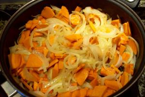 struddle verduras - strudle de calabaza
