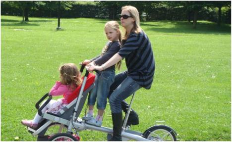 TAGA carrito con bicicleta