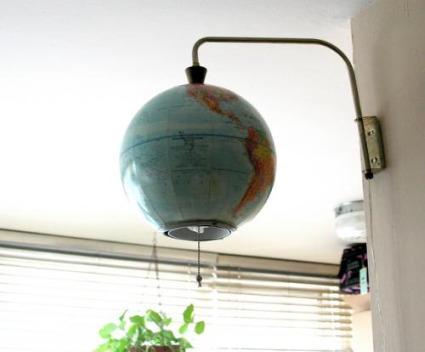 tierra lampara - Globo terráqueo-lámpara