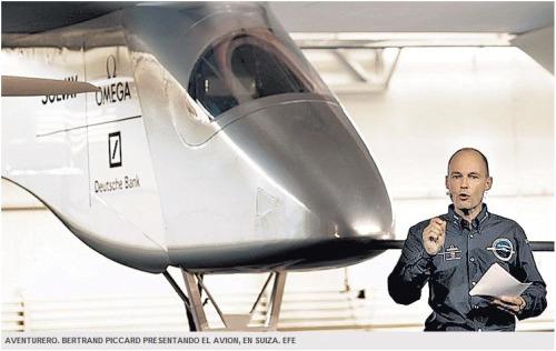 avion solar - El primer AVIÓN SOLAR está listo para volar