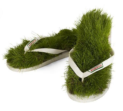 sandalias verdes - Sandalias para tener los pies en la tierra