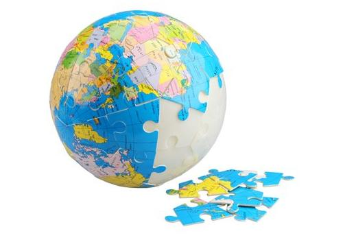 tierra puzzle - ¿Países o planeta?