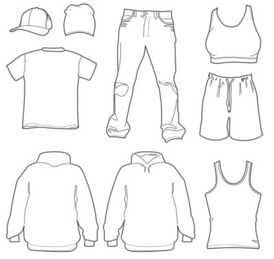 vestuario sencillo - vestuario sencillo