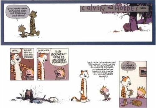 calvin2 - Calvin y Hobbes: ¿Eres Sancho o Don Quijote?