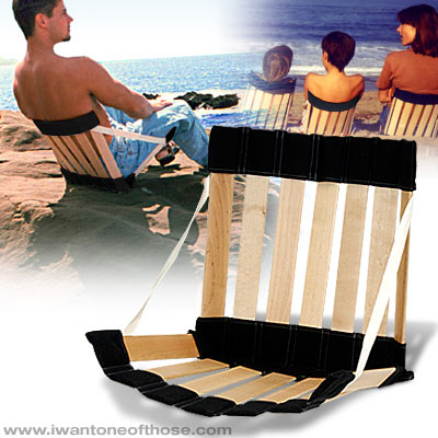 silla ergonómica playa