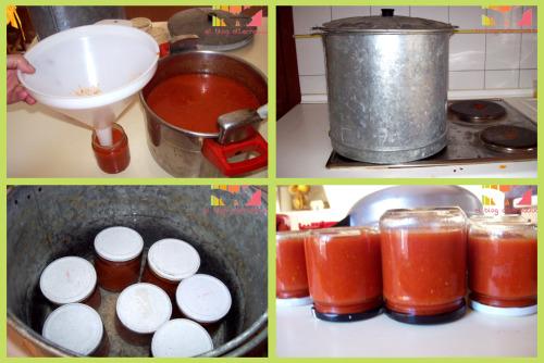 conserva tomate proceso 21 - Receta de conserva de tomate frito casero