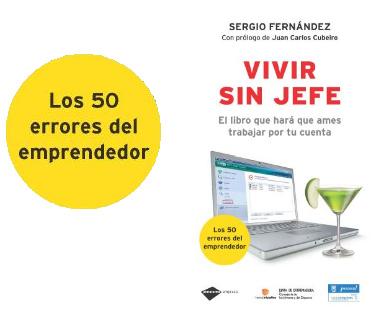 """los 50 errores del emprendedor - Los 50 ERRORES del emprendedor del libro """"Vivir sin jefe"""" (2/2)"""