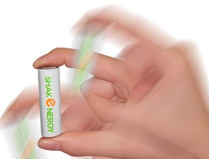 pila que se recarga agitando1 - Agita la batería para que se recargue